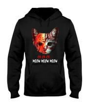 Jason Voorhees Ch Ch Ch Meow Meow Meow Shirt Hooded Sweatshirt thumbnail
