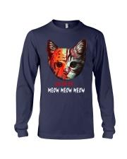 Jason Voorhees Ch Ch Ch Meow Meow Meow Shirt Long Sleeve Tee thumbnail