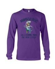 T Rex Mamasaurus Like A Normal Mama Cooler Shirt Long Sleeve Tee thumbnail