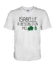 Isabelle A Besoin D'un Mojito Shirt V-Neck T-Shirt thumbnail