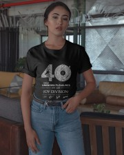 40 Years Of Unknown Pleasures Thank You Shirt Classic T-Shirt apparel-classic-tshirt-lifestyle-05
