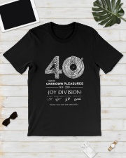 40 Years Of Unknown Pleasures Thank You Shirt Classic T-Shirt lifestyle-mens-crewneck-front-17