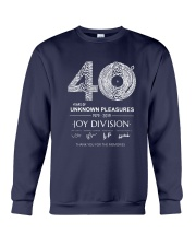 40 Years Of Unknown Pleasures Thank You Shirt Crewneck Sweatshirt thumbnail
