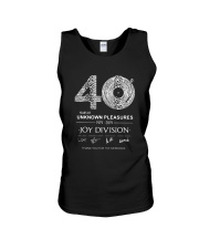 40 Years Of Unknown Pleasures Thank You Shirt Unisex Tank thumbnail