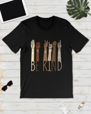 Sign Language Be Kind Shirt Classic T-Shirt lifestyle-mens-crewneck-front-17