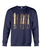 Sign Language Be Kind Shirt Crewneck Sweatshirt thumbnail