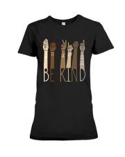 Sign Language Be Kind Shirt Premium Fit Ladies Tee thumbnail