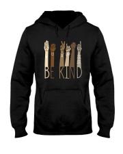 Sign Language Be Kind Shirt Hooded Sweatshirt thumbnail