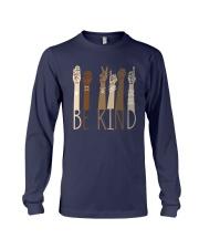 Sign Language Be Kind Shirt Long Sleeve Tee thumbnail
