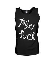 Toilet Of Fuck Shirt Unisex Tank thumbnail