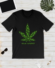Cannabis Kiss Me I'm Highrish Shirt Classic T-Shirt lifestyle-mens-crewneck-front-17