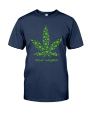 Cannabis Kiss Me I'm Highrish Shirt Classic T-Shirt tile