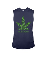 Cannabis Kiss Me I'm Highrish Shirt Sleeveless Tee thumbnail