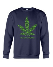 Cannabis Kiss Me I'm Highrish Shirt Crewneck Sweatshirt thumbnail