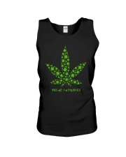 Cannabis Kiss Me I'm Highrish Shirt Unisex Tank thumbnail
