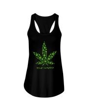 Cannabis Kiss Me I'm Highrish Shirt Ladies Flowy Tank thumbnail