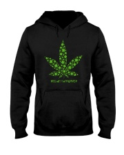 Cannabis Kiss Me I'm Highrish Shirt Hooded Sweatshirt thumbnail