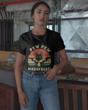 Vintage Cat With Two Guns Pew Pew Madafakas Shirt Classic T-Shirt apparel-classic-tshirt-lifestyle-05