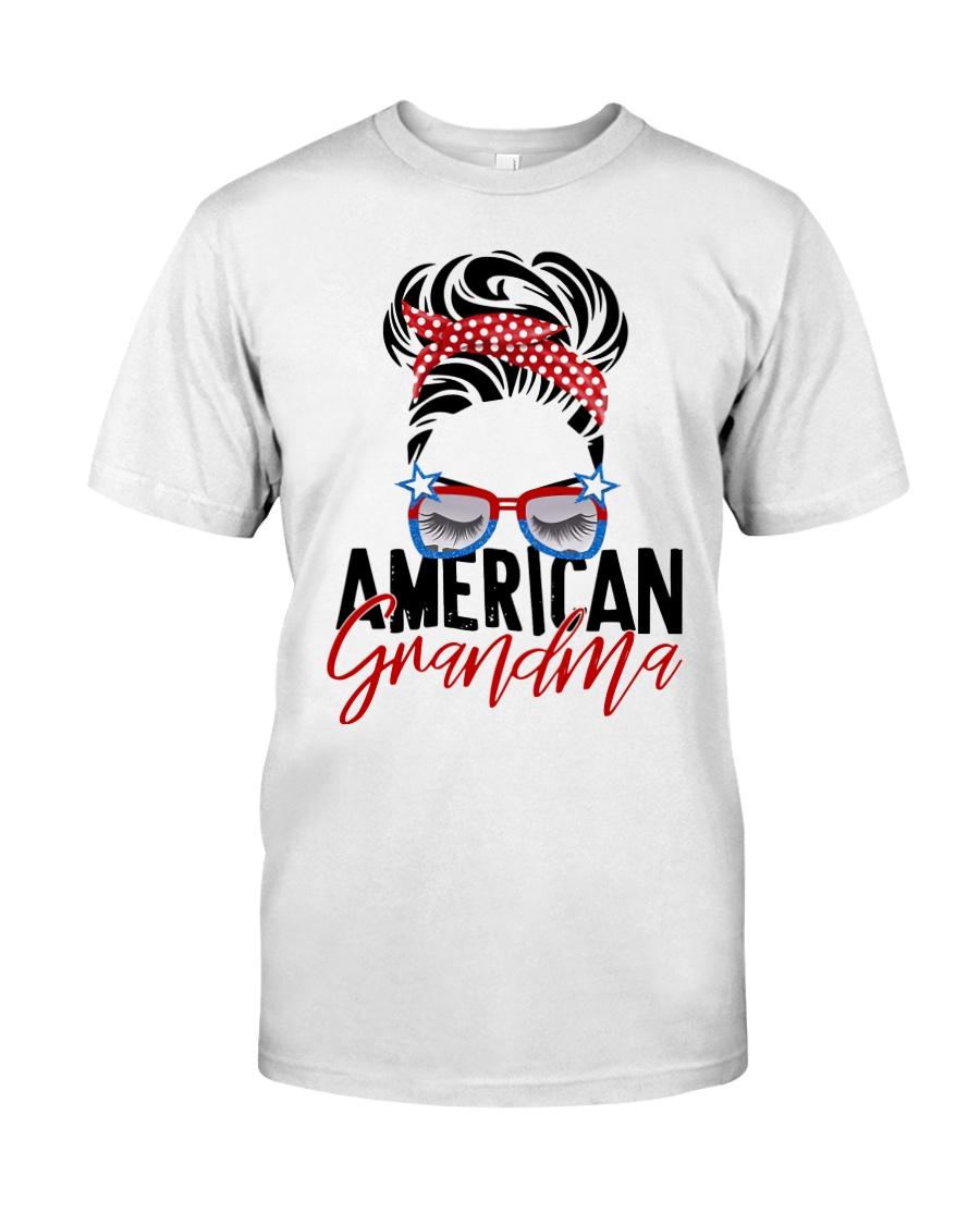 American Grandma Shirt Classic T-Shirt