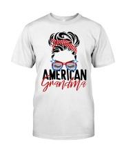 American Grandma Shirt Classic T-Shirt front
