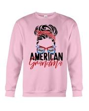 American Grandma Shirt Crewneck Sweatshirt thumbnail