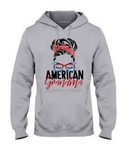 American Grandma Shirt Hooded Sweatshirt thumbnail