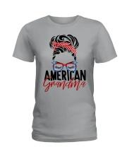 American Grandma Shirt Ladies T-Shirt thumbnail