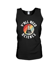 Vintage Y'all Need Science Shirt Unisex Tank thumbnail