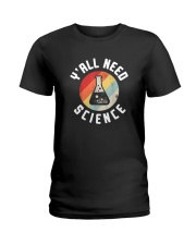 Vintage Y'all Need Science Shirt Ladies T-Shirt tile