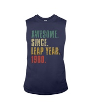 Awesome Since Leap Year 1980 Shirt Sleeveless Tee thumbnail