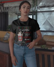 Survive On Coffee Alone She Also Needs Cats Shirt Classic T-Shirt apparel-classic-tshirt-lifestyle-05