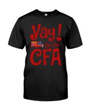 Eliza Taylor And Bob Yay For The Cfa Shirt Premium Fit Mens Tee thumbnail