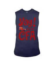Eliza Taylor And Bob Yay For The Cfa Shirt Sleeveless Tee thumbnail