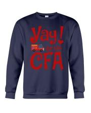 Eliza Taylor And Bob Yay For The Cfa Shirt Crewneck Sweatshirt thumbnail