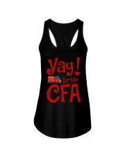 Eliza Taylor And Bob Yay For The Cfa Shirt Ladies Flowy Tank thumbnail