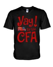Eliza Taylor And Bob Yay For The Cfa Shirt V-Neck T-Shirt thumbnail