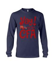 Eliza Taylor And Bob Yay For The Cfa Shirt Long Sleeve Tee thumbnail