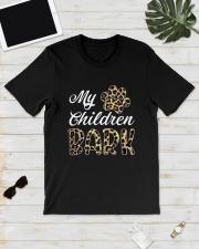 Leopard Print My Children Bark Shirt Classic T-Shirt lifestyle-mens-crewneck-front-17