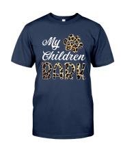 Leopard Print My Children Bark Shirt Classic T-Shirt tile