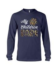 Leopard Print My Children Bark Shirt Long Sleeve Tee thumbnail