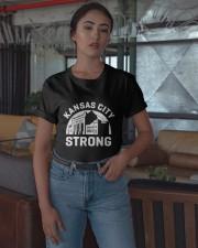 Union Station Kansas City Strong Shirt Classic T-Shirt apparel-classic-tshirt-lifestyle-05