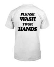 Talentless Wash Your Hands Shirt Classic T-Shirt back