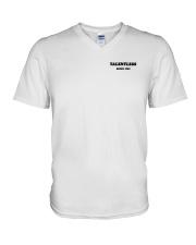 Talentless Wash Your Hands Shirt V-Neck T-Shirt thumbnail