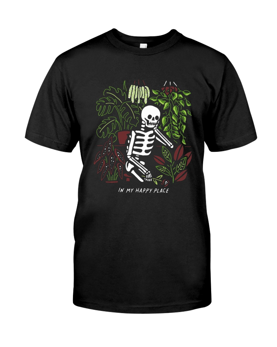 Bones In My Happy Place Shirt Classic T-Shirt