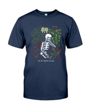 Bones In My Happy Place Shirt Classic T-Shirt tile