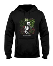 Bones In My Happy Place Shirt Hooded Sweatshirt thumbnail