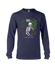 Bones In My Happy Place Shirt Long Sleeve Tee thumbnail
