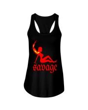 Hot Girl Meg Savage Shirt Ladies Flowy Tank thumbnail