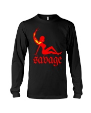 Hot Girl Meg Savage Shirt Long Sleeve Tee thumbnail