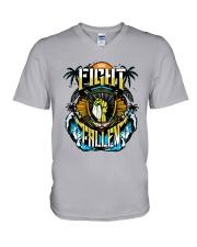 AEW Fight For The Fallen Shirt V-Neck T-Shirt thumbnail